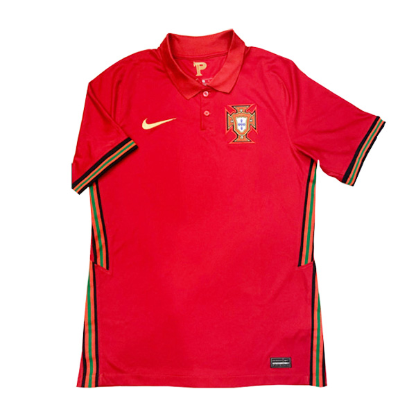 2020 Portugal Home Soccer Jersey Shirt