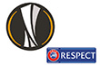 UEFA Europa League Badge&Respect Badge